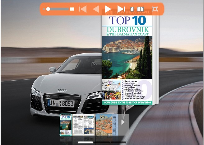 Windows 7 Audi Theme for Wise PDF to FlipBook pro 1.0 full