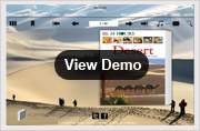 desert templates for page-flip book demo