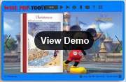 disney templates for page-flip book demo