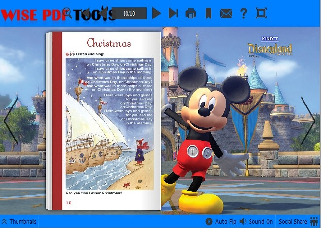 disney templates for Wise PDF to Flipbook Pro
