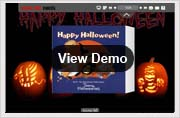 halloween templates for page-flip book demo