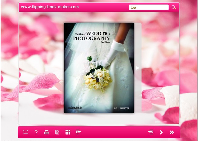 pink templates for Wise PDF to Flipbook
