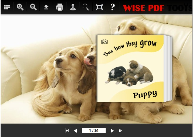 facile templates for  Wise PDF to Flipbook Pro