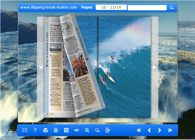 float templates for Wise PDF to Flipbook Pro
